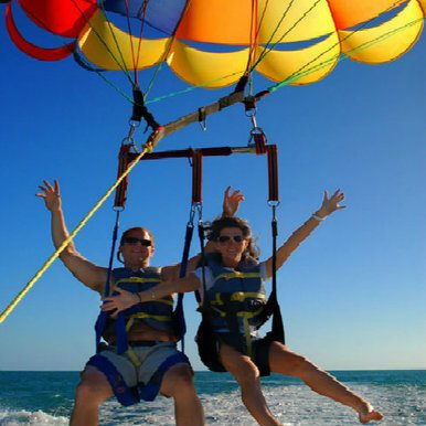 Parasailing Adventure in Key West.